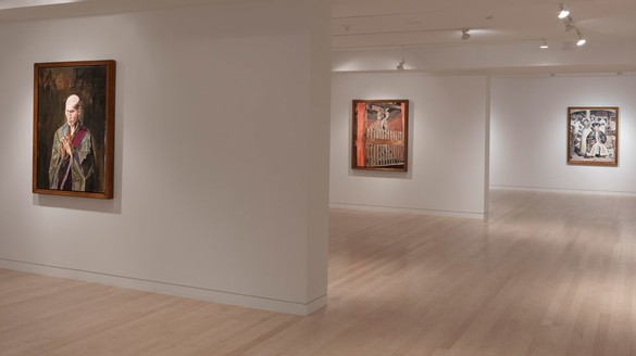 Installation view Artwork © Bob Dylan. Photo: Rob McKeever