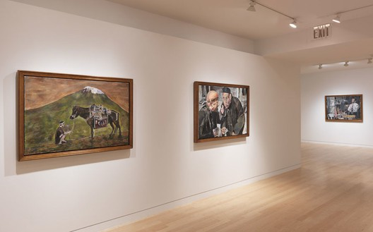 Installation view Artwork © Bob Dylan. Photo: Rob McKeever
