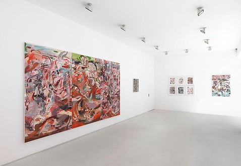 Cecily Brown Installation ViewPhotography by Mike Bruce