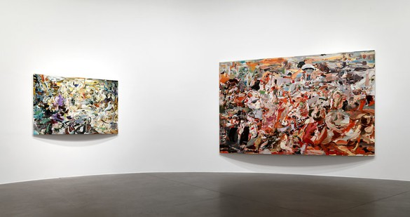 Cecily Brown Installation view Photo by by Matteo Piazza