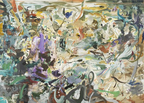 Cecily Brown, Dreamboat, 2011 Oil on linen, 55 × 77 inches (139.7 × 195.6 cm)