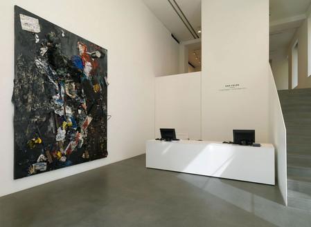 Dan Colen: Trash Installation view, photo by Matteo Piazza