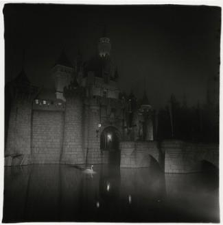 Diane Arbus, A castle in Disneyland, Cal., 1962 Gelatin silver print, 20 × 16 inches (50.8 × 40.6 cm)© Estate of Diane Arbus