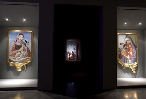Francesco Vezzoli: Sacrilegio Installation view, photo by Rob McKeever