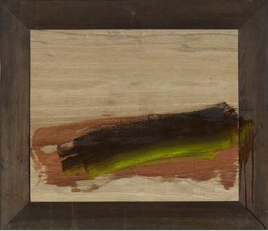 Howard Hodgkin, Breakfast, 2010–11 Oil on wood, 26 ⅞ × 31 ⅛ inches (68.3 × 79.1 cm)© Howard Hodgkin Estate