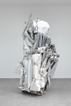 John Chamberlain: New Sculpture, Britannia Street, London