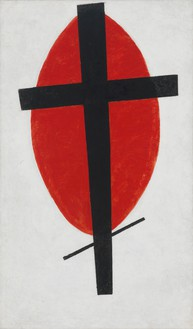 Kazimir Malevich, Mystic Suprematism, 1920–27 Oil on canvas, 39 ⅜ × 23 ⅝ inches (100.5 × 60 cm)
