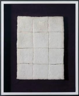 Piero Manzoni, Achrome, 1960 Cotton wool squares, 11 13/16 × 15 11/16 inches (30 × 40 cm)