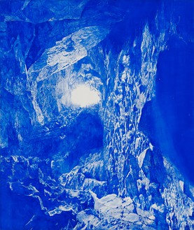 Mark Tansey, Trefoil, 2009 Oil on canvas, 85 ½ × 71 ⅞ inches (217.2 × 182.6 cm)© Mark Tansey