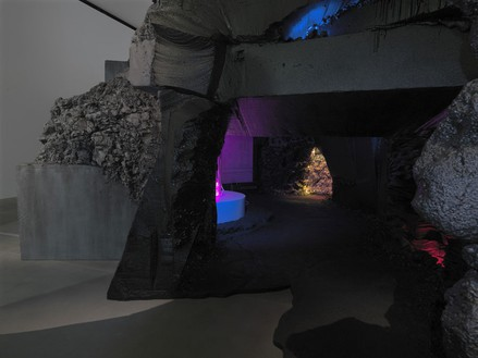 Mike Kelley: Exploded Fortress of Solitude Installation view, photo by Mike Bruce
