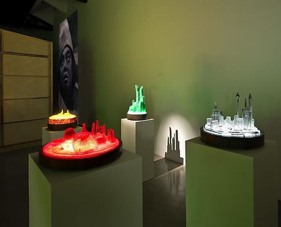 Mike Kelley: Kandor 10 / Extracurricular Activity Projective Reconstruction #34Kandor 12 / Extracurricular Activity Projective Reconstruction #35Installation view, photo by Fredrik Nilsen