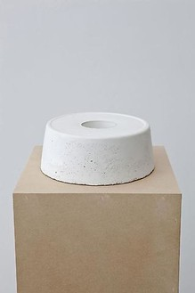 Piero Golia, Untitled #3, 2011 Cast concrete, 3 ¾ × 9 ¼ × 9 ¼ inches (9.5 × 23.5 × 23.5 cm)© Piero Golia, photo by Joshua White