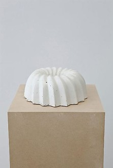Piero Golia, Untitled #7, 2011 Cast concrete, 3 ⅝ × 9 × 9 inches (9.2 × 22.9 × 22.9 cm)© Piero Golia, photo by Joshua White