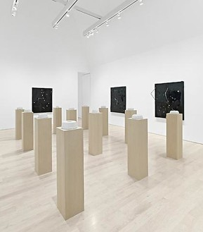 Installation view at Gagosian Beverly Hills Artworks © Piero Golia, photo by Douglas M. Parker Studio
