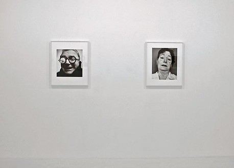 Richard Avedon: Writers Installation view, photo by Camille Perrault