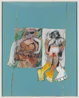 Richard Prince, Untitled (de Kooning), 2009 Ink jet and acrylic on canvas, 74 ¾ × 59 inches (189.9 × 149.9 cm)