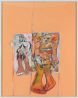 Richard Prince, Untitled (de Kooning), 2009 Ink jet and acrylic on canvas, 77 ⅜ × 61 ¾ inches (196.5 × 156.8 cm)