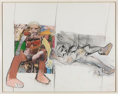 Richard Prince, Untitled (de Kooning), 2008 Ink jet and acrylic on canvas, 61 ¾ × 77 ¼ inches (156.8 × 196.2 cm)