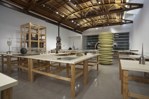 Installation view Artworks © Robert Therrien, photo by Josh White