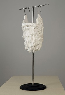 Robert Therrien, No title (Plaster beard), 1999 Plaster and metal, 51 ½ × 22 × 17 inches (130.8 × 55.9 × 43.2 cm)© Robert Therrien, photo by Josh White