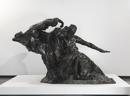 Auguste Rodin, Monument to Victor Hugo, c. 1900 Bronze, 72 ¾ × 112 ⅛ × 63 ¾ inches (184.8 × 284.8 × 161.9 cm), edition of 8