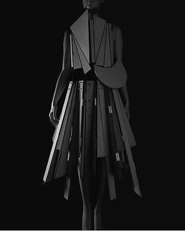 Hiroshi Sugimoto, Stylized Sculpture 067, designer: Yohji Yamamoto, 2007 Gelatin silver print, 58 ¾ × 47 inches unframed (149.2 × 119.4 cm), edition of 5