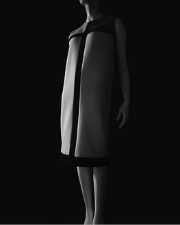 Hiroshi Sugimoto, Stylized Sculpture 008, designer: Yves Saint-Laurent, 2007 Gelatin silver print, 58 ¾ × 47 inches unframed (149.2 × 119.4 cm), edition of 5