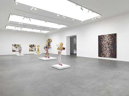 Installation view  Artwork © Takashi Murakami/Kaikai Kiki Co., Ltd. All rights reserved. Photo: Mike Bruce