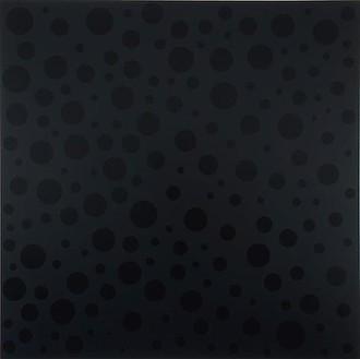 Yayoi Kusama, INFINITE-NOTHINGNESS, 2008 Urethane on canvas, 76 ⅜ × 76 ⅜ inches (194 × 194cm)