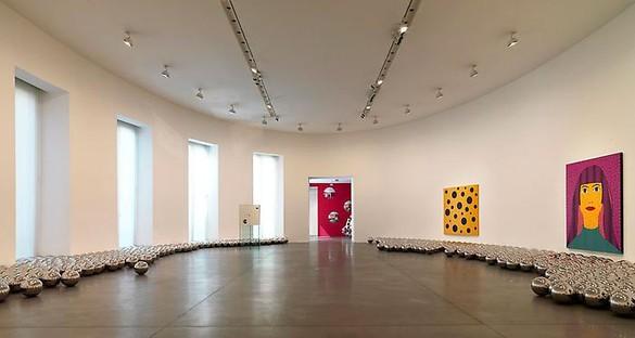 Yayoi Kusama Installation View, photo by Matteo Piazza