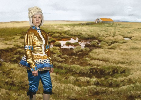 Cindy Sherman, Untitled (#513), 2010–11 Color photograph, 68 × 96 ⅜ inches (172.7 × 244.8 cm), edition of 6