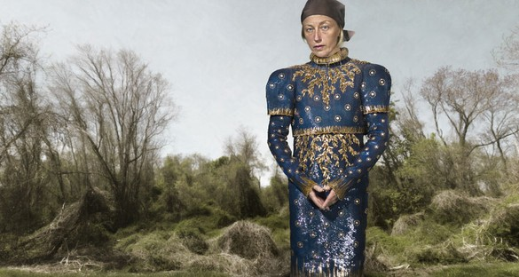 Cindy Sherman, Untitled (#551), 2010–12 Color photograph, 63 ½ × 119 inches (161.3 × 302.3 cm), edition of 6