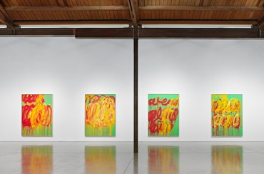 Cy Twombly: The Last Paintings, Beverly Hills
