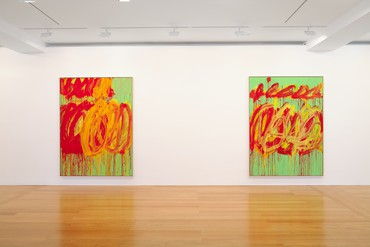 Cy Twombly: The Last Paintings, Hong Kong