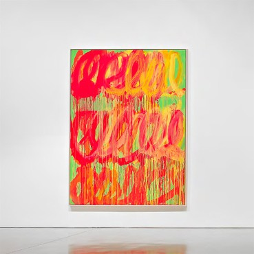 Cy Twombly: The Last Paintings, Britannia Street, London