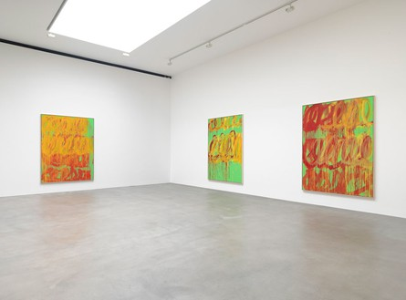 Installation view Artwork © Cy Twombly Foundation