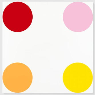 Damien Hirst, Betulin, 2005 Household gloss on canvas, 72 × 72 inches (182.9 × 182.9 cm)© Damien Hirst and Science Ltd. All rights reserved, DACS 2012
