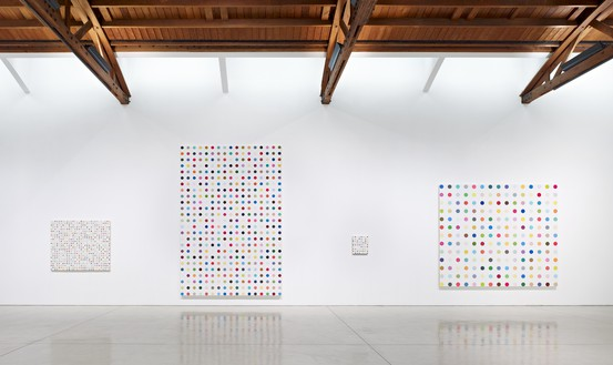 Installation view Artwork © Damien Hirst and Science Ltd. All rights reserved, DACS 2012. Photo: Douglas M. Parker Studio