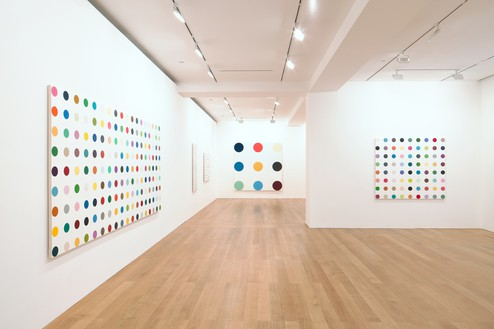 Installation view Artwork © Damien Hirst and Science Ltd. All rights reserved, DACS 2012