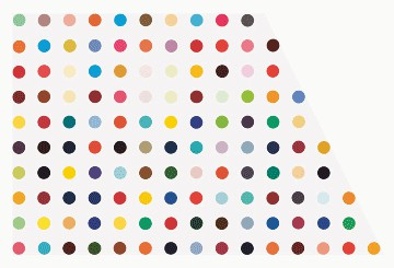 Damien Hirst: The Complete Spot Paintings 1986–2011, Britannia Street, London