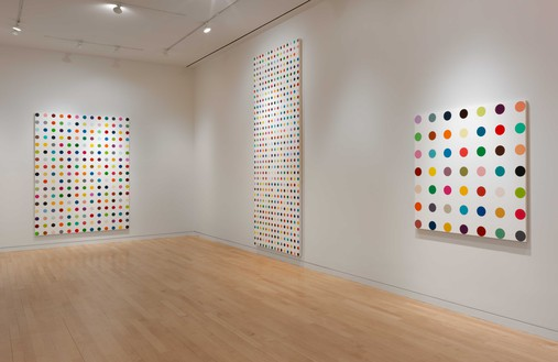 Installation view (5th floor) Artwork © Damien Hirst and Science Ltd. All rights reserved, DACS 2020. Photo: Rob McKeever
