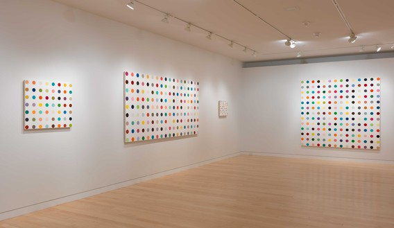 Installation view (4th floor) Artwork © Damien Hirst and Science Ltd. All rights reserved, DACS 2020. Photo: Rob McKeever