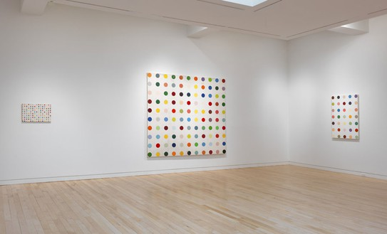 Installation view (6th floor) Artwork © Damien Hirst and Science Ltd. All rights reserved, DACS 2012. Photo: Rob McKeever