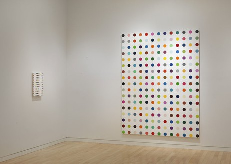 Installation view (5th floor) Artwork © Damien Hirst and Science Ltd. All rights reserved, DACS 2012. Photo: Rob McKeever