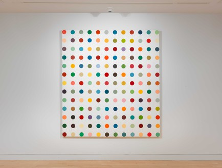 Installation view (6th floor) Artwork © Damien Hirst and Science Ltd. All rights reserved, DACS 2020. Photo: Rob McKeever