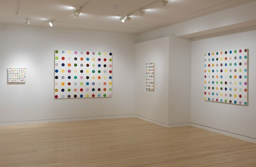 Installation view (4th floor) Artwork © Damien Hirst and Science Ltd. All rights reserved, DACS 2012. Photo: Rob McKeever