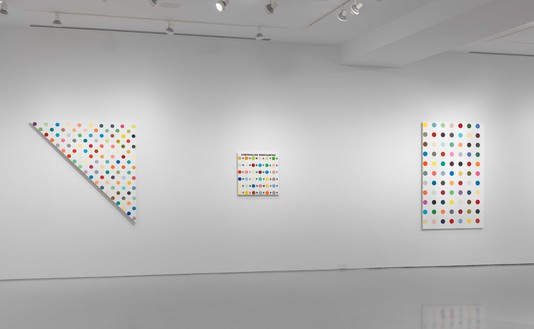 Installation view (5th floor annex) Artwork © Damien Hirst and Science Ltd. All rights reserved, DACS 2020. Photo: Rob McKeever