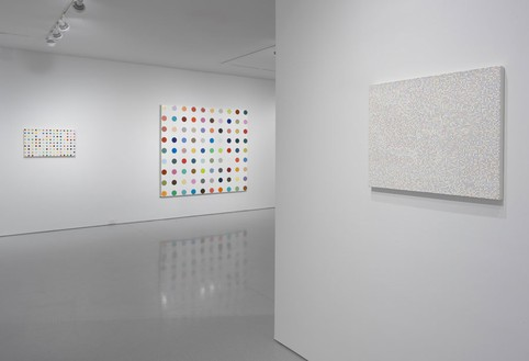 Installation view (5th floor annex) Artwork © Damien Hirst and Science Ltd. All rights reserved, DACS 2012. Photo: Rob McKeever