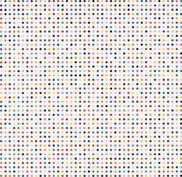 Damien Hirst: The Complete Spot Paintings 1986–2011, Paris
