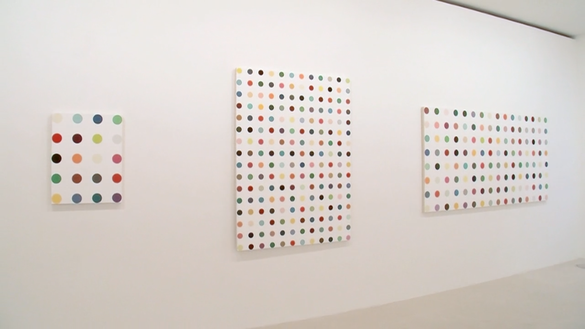 Damien Hirst The Complete Spot Paintings 1986 2011 Paris January 12 March 10 2012 Gagosian